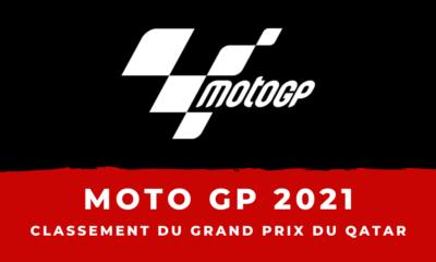 MotoGP - Grand Prix du Qatar - Le classement de la course
