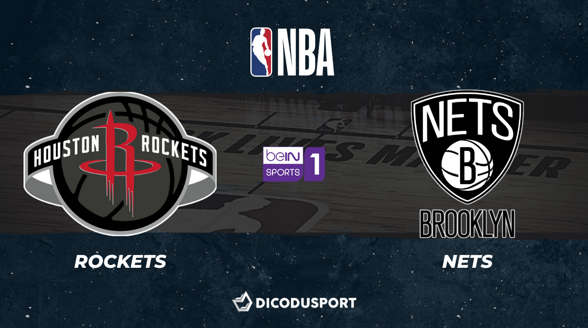 NBA notre pronostic pour Houston Rockets - Brooklyn Nets