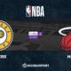 NBA notre pronostic pour Indiana Pacers - Miami Heat