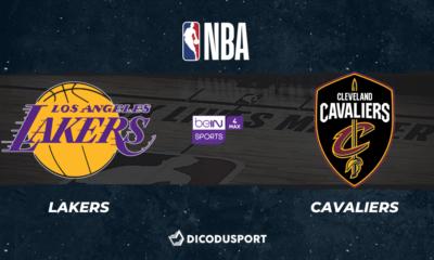 NBA notre pronostic pour Los Angeles Lakers - Cleveland Cavaliers