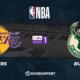 NBA notre pronostic pour Los Angeles Lakers - Milwaukee Bucks