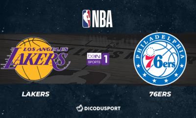 NBA notre pronostic pour Los Angeles Lakers - Philadelphia 76ers