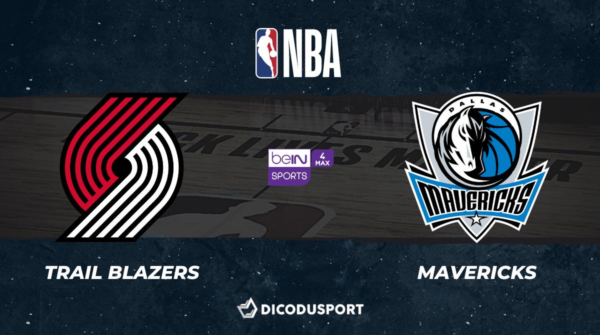 NBA notre pronostic pour Portland Trail Blazers - Dallas Mavericks