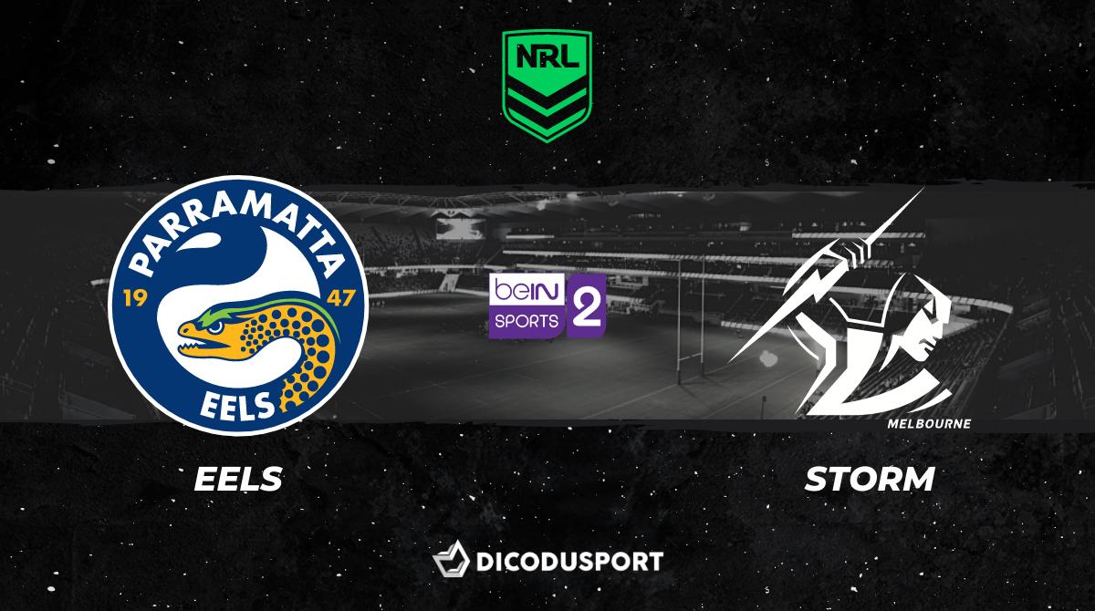 NRL 2021 notre pronostic pour Parramatta Eels - Melbourne Storm