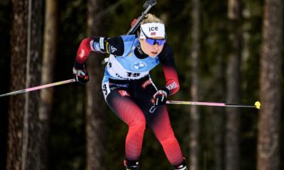 Ostersund - Ingrid Tandrevold remporte une mass start dantesque et fait coup double