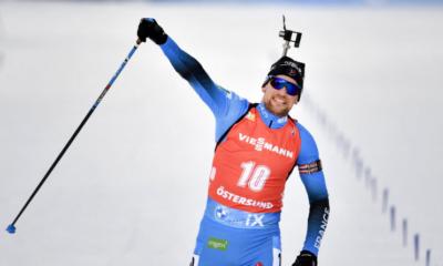 Ostersund : Simon Desthieux remporte la mass start, Johannes Boe est sacré !