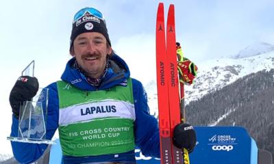 Ski de fond - Hugo Lapalus remporte le général de la Coupe du monde des U23