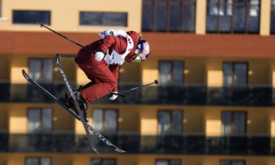 Tess Ledeux en finale des Mondiaux de slopestyle