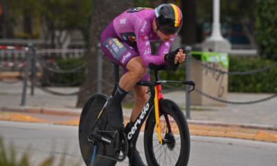 Tirreno-Adriatico - Wout Van Aert gagne le chrono de la dernière étape