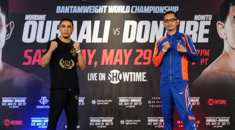 Boxe poids coqs : Oubaali - Donaire, un combat imprévisible