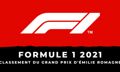 F1 - Grand Prix d'Émilie-Romagne 2021 - Le classement de la course