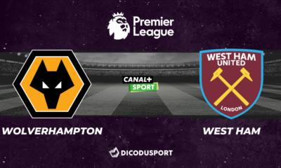 Football - Premier League notre pronostic pour Wolverhampton - West Ham