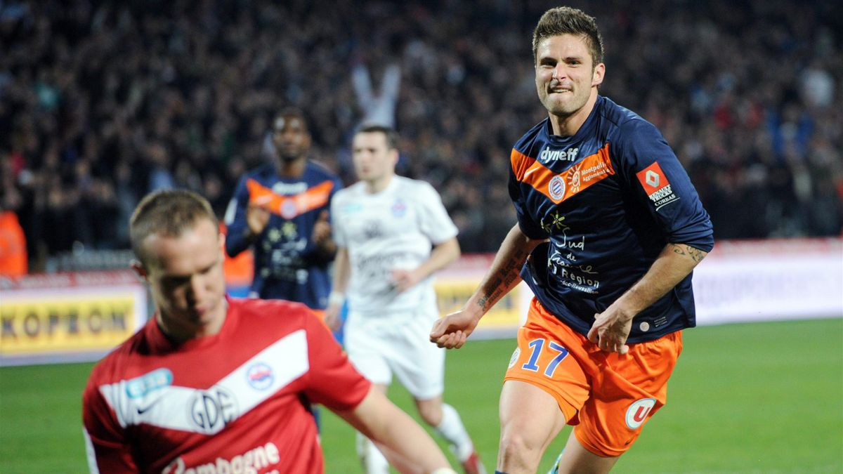 Giroud et Montpellier rois de France