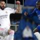 Karim Benzema et N'Golo Kanté Real Madrid Chelsea