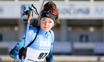 """Lou Jeanmonnot : """"Il va vraiment falloir bosser sur les skis"""""""