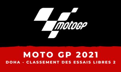 MotoGP - Grand Prix de Doha : le classement des essais libres 2