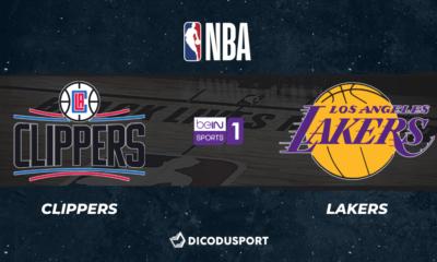 NBA notre pronostic pour Los Angeles Clippers - Los Angeles Lakers