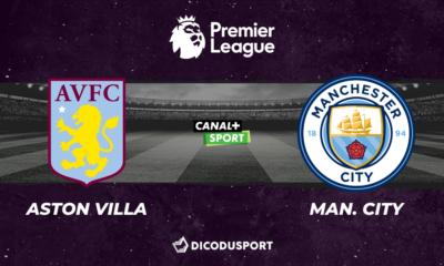 Pronostic Aston Villa - Manchester City, 32ème journée de Premier League