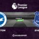 Pronostic Brighton - Everton, 31ème journée de Premier League