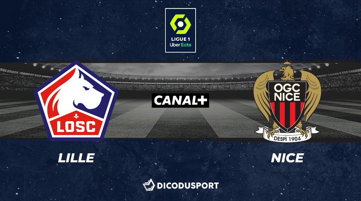 Pronostic Lille - Nice, 35ème journée de Ligue 1