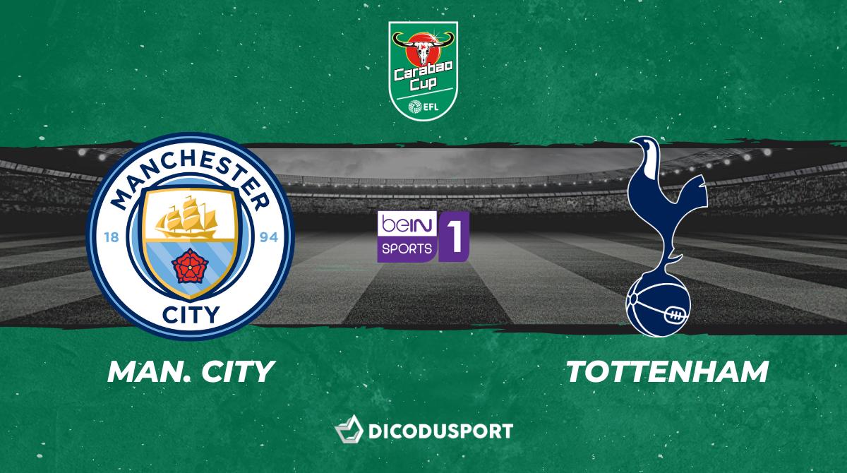 Pronostic Manchester City - Tottenham, finale de la Carabao Cup