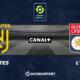 Pronostic Nantes - Lyon, 33ème journée de Ligue 1