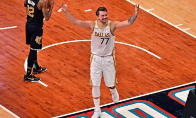[Vidéo] NBA - L'incroyable buzzer beater de Luka Doncic face à Memphis