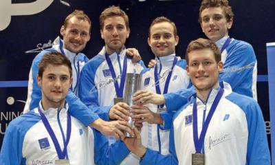 2 mai 2015 - La France est championne d'Europe de squash