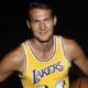 28 mai 1938 - Naissance de Jerry West, logo de la NBA