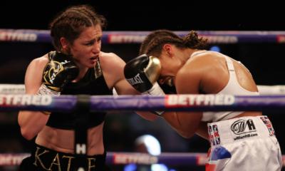 Boxe poids légers - Katie Taylor conserve ses ceintures et reste invaincue