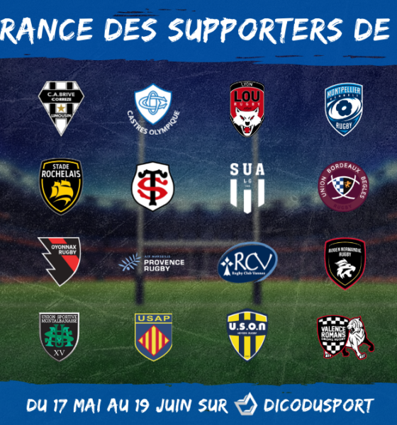 CDF des supporters de rugby 2021