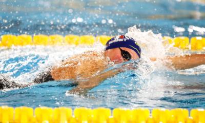 Championnats d'Europe de natation - Le relais féminin français en bronze
