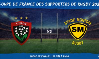 Coupe de France des supporters de rugby 2021 - 16ème de finale RC Toulon – Stade Montois