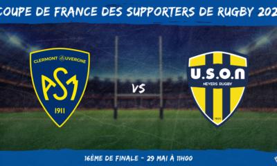 Coupe de France des supporters de rugby 2021 - 16ème de finale ASM Clermont - USON Nevers