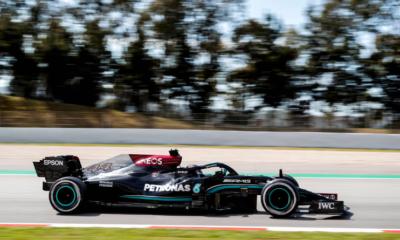 Grand Prix d'Espagne - Lewis Hamilton meilleur temps des essais libres 2