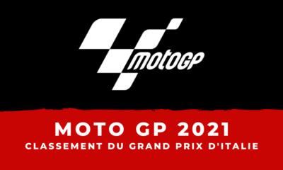 MotoGP - Grand Prix d'Italie 2021 : le classement de la course