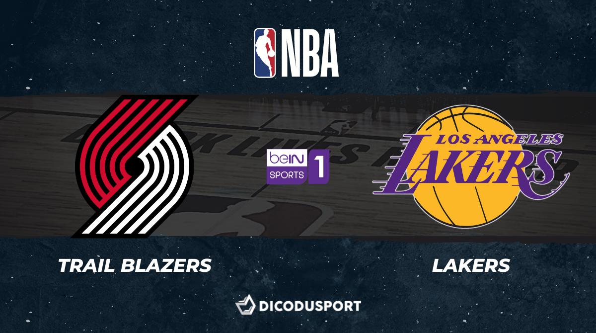 NBA notre pronostic pour Portland Trail Blazers - Los Angeles Lakers