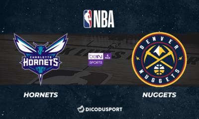 NBA notre pronostic pour Charlotte Hornets - Denver Nuggets