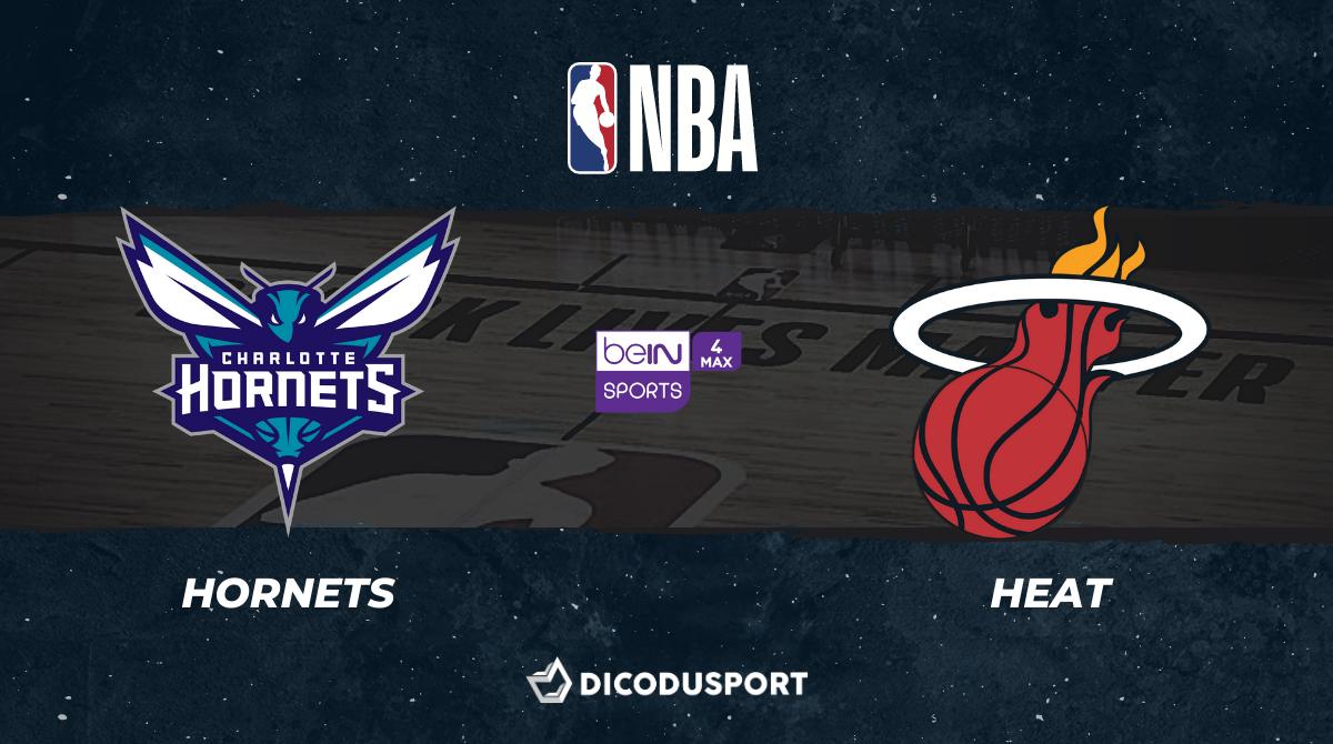NBA notre pronostic pour Charlotte Hornets - Miami Heat