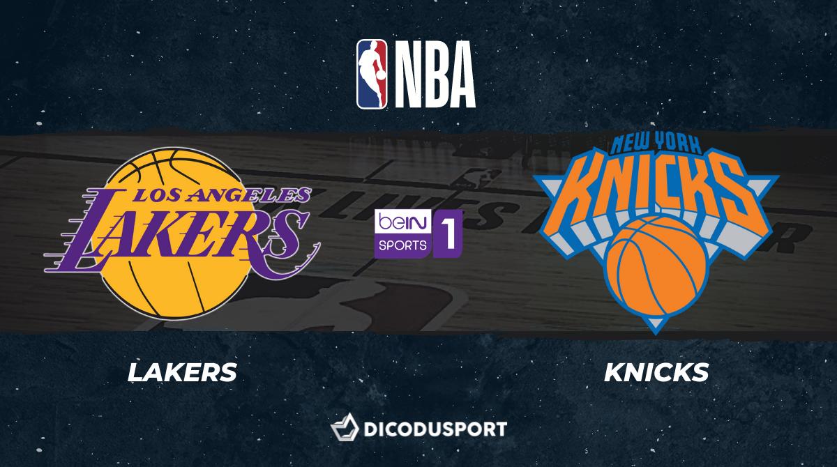 NBA notre pronostic pour Los Angeles Lakers - New York Knicks