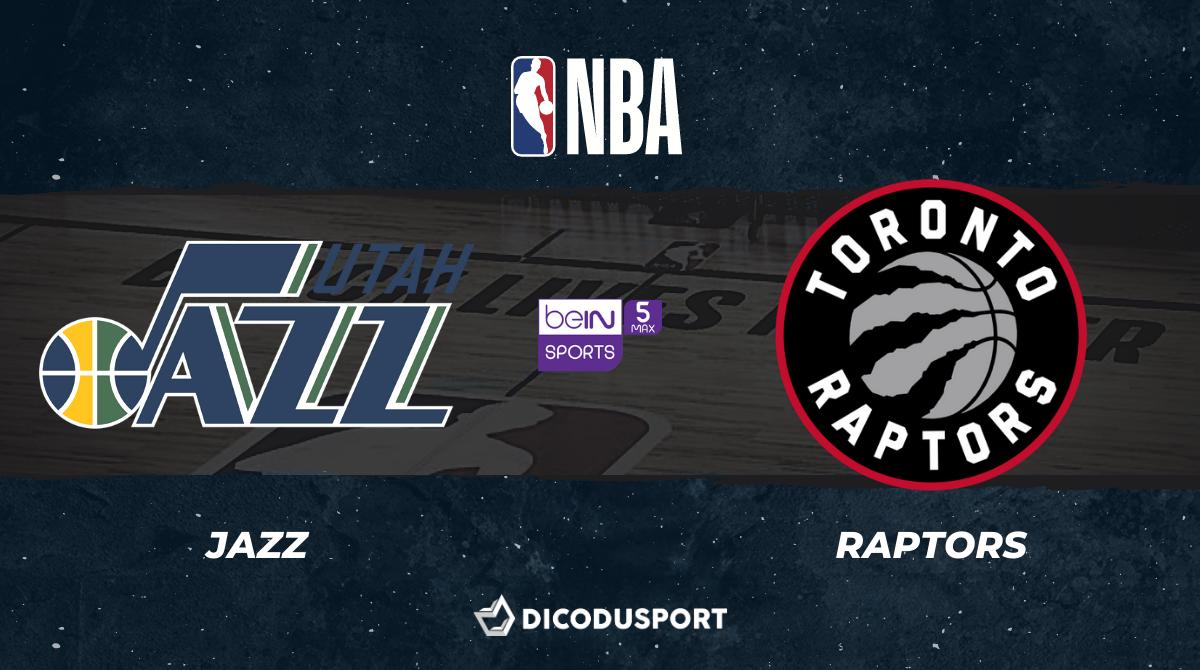 NBA notre pronostic pour Utah Jazz - Toronto Raptors