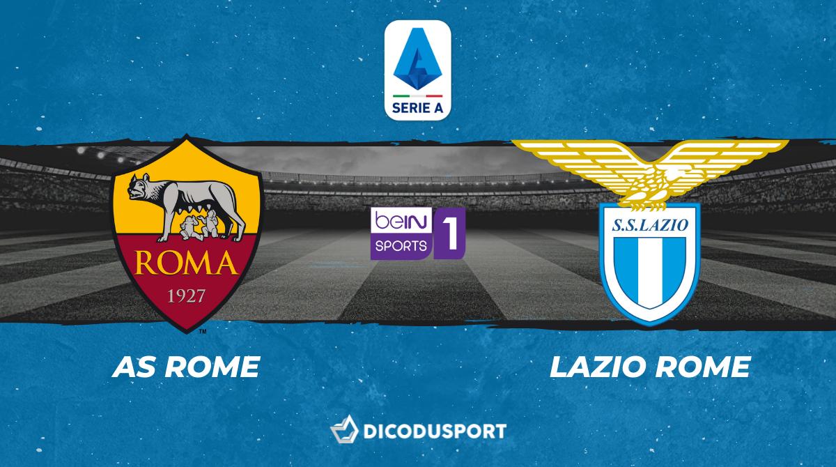 Pronostic AS Rome - Lazio Rome, 37ème journée de Serie A