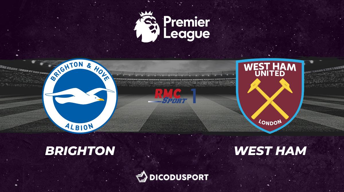 Pronostic Brighton - West Ham, 36ème journée de Premier League