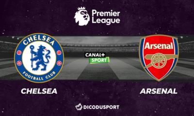 Pronostic Chelsea - Arsenal, 36ème journée de Premier League
