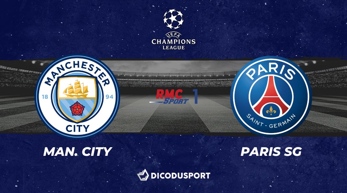 Pronostic Manchester City - PSG, demi-finale retour de Ligue des Champions