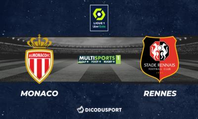 Pronostic Monaco - Rennes, 37ème journée de Ligue 1