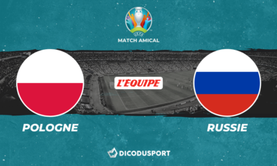 Pronostic Pologne - Russie, match amical
