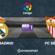 Pronostic Real Madrid - FC Séville, 35ème journée de Liga