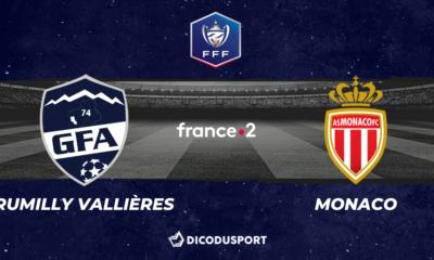 Pronostic Rumilly Vallières - Monaco, demi-finale de la Coupe de France