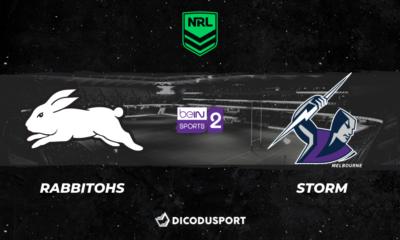 Pronostic South Sydney Rabbitohs - Melbourne Storm, 9ème journée de NRL